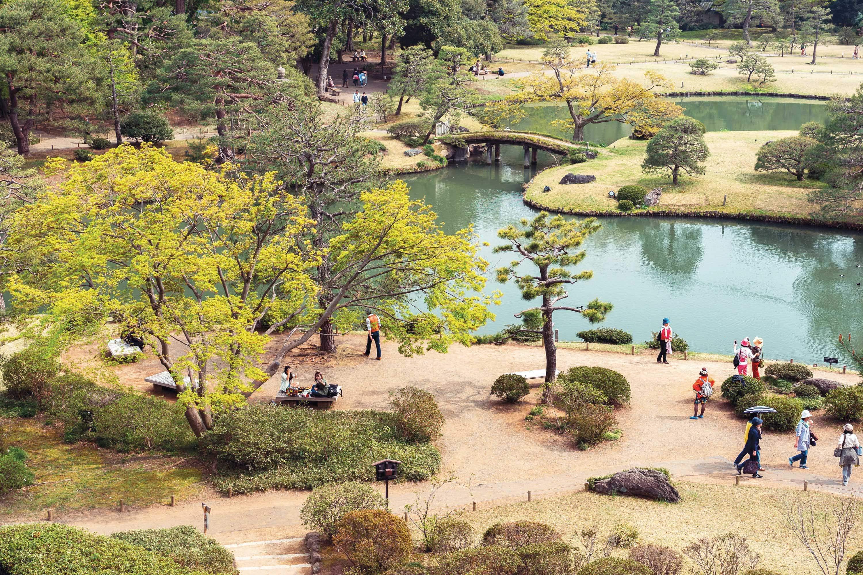 Rikugien Gardens, Tokyo