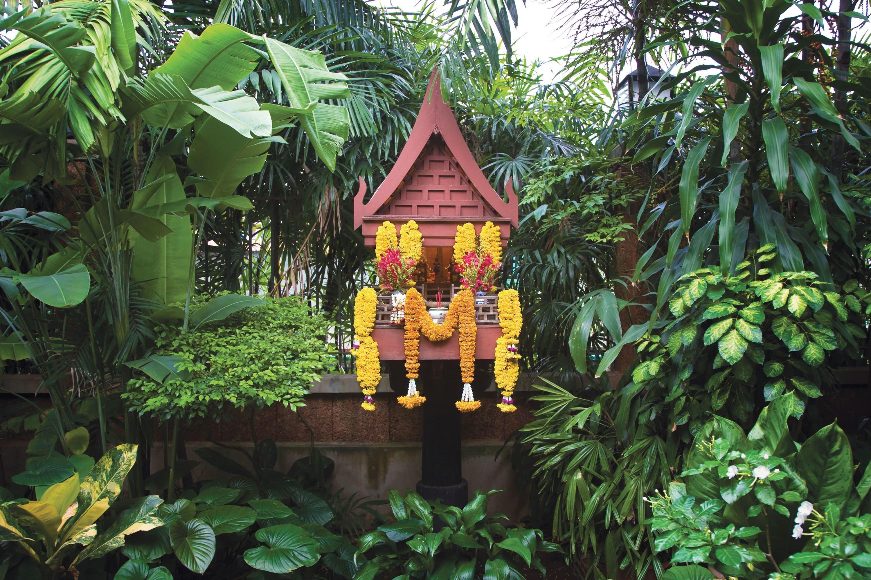 Ornate house at Jim Thompson House Museum, Bangkok