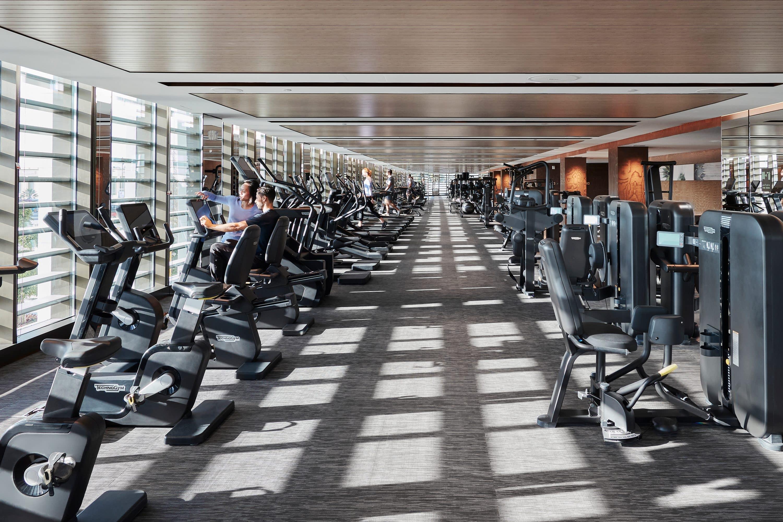 Gym at Mandarin Oriental Jumeira, Dubai