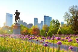 Boston public park
