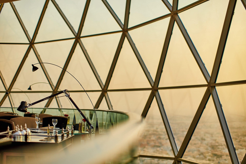 View from The Globe, Riyadh