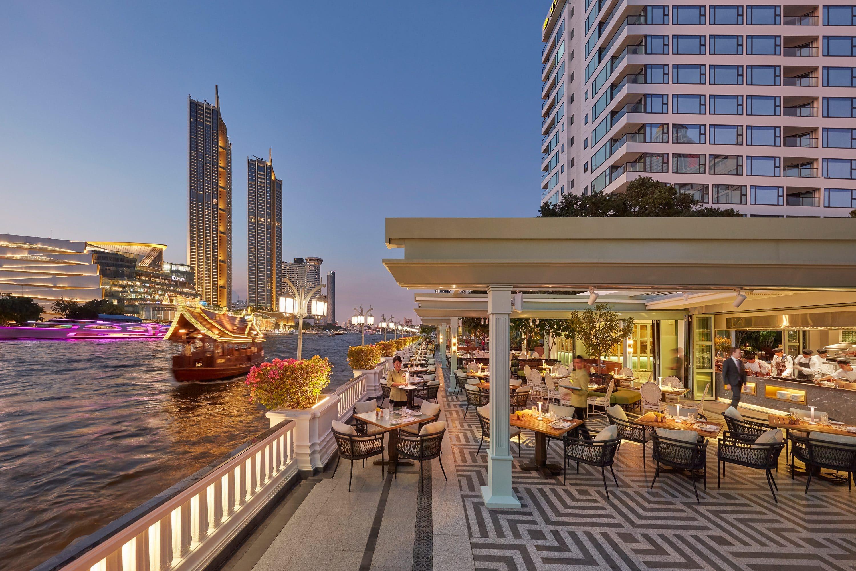 Riverside Terrace restaurant at Mandarin Oriental, Bangkok