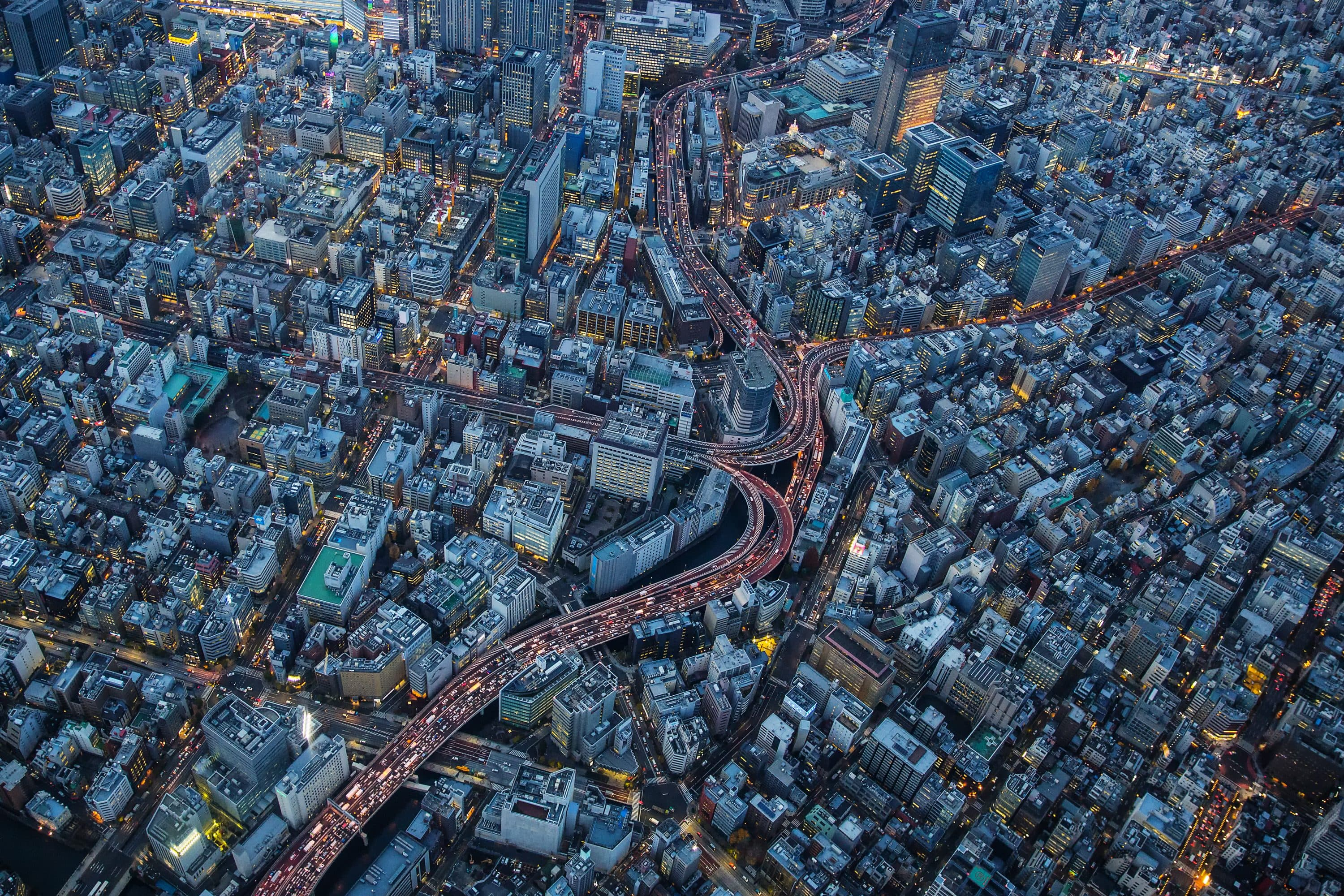 Nihonbashi from above