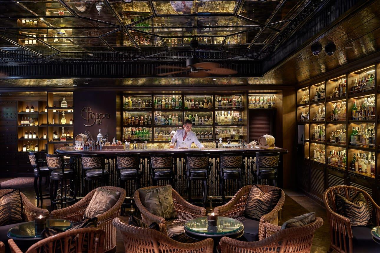 Inside Bamboo Bar, Bangkok