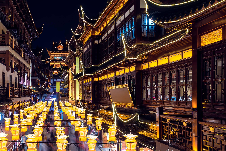 Yu Gardens Lantern Festival, Shanghai