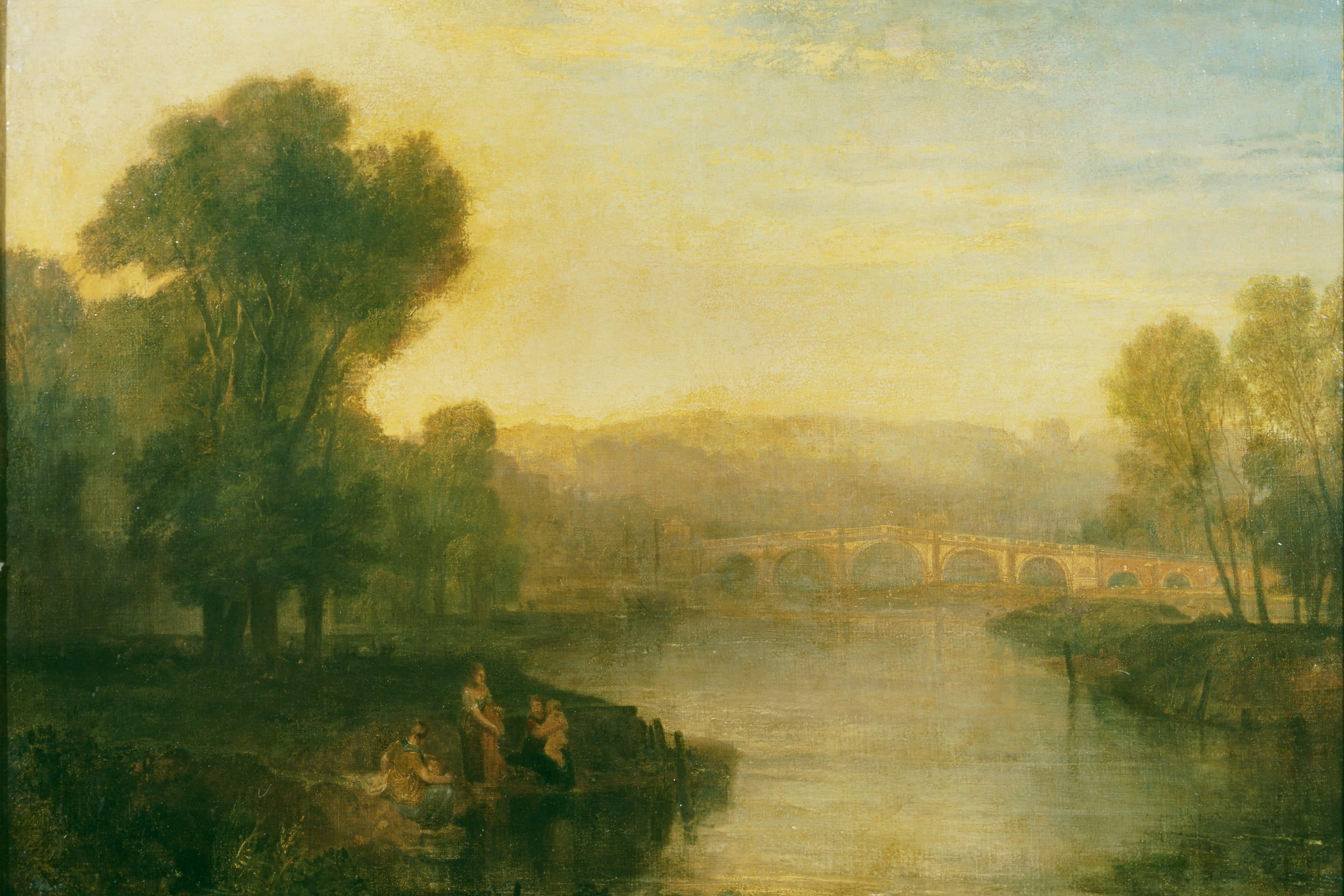 Bridge painting by Turner