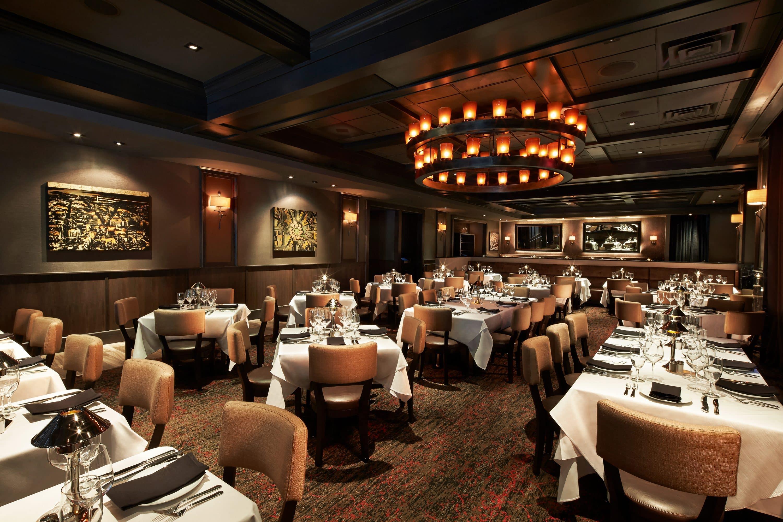 Interior of Mastro's Steakhouse, Washington, D.C.
