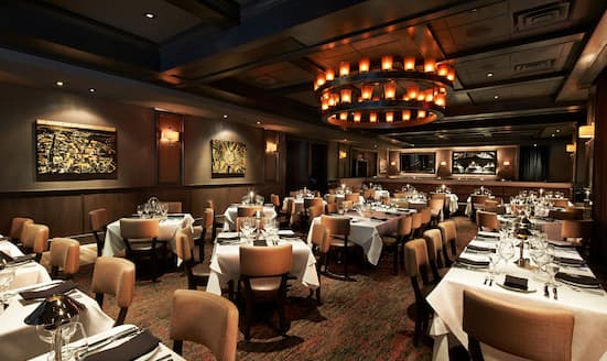 Interior of Mastro's Steakhouse, Washington, D.C.