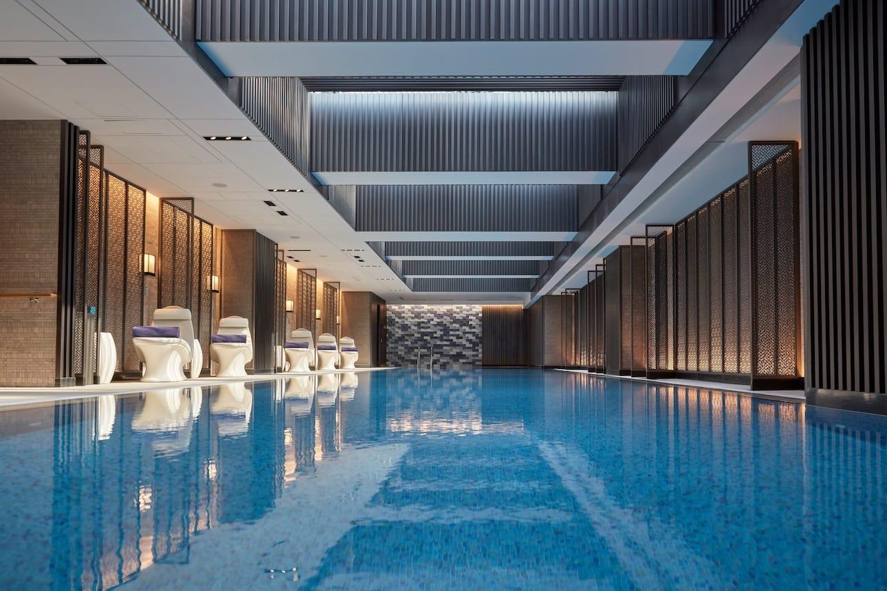 Spa pool at Mandarin Oriental Wangfujing, Beijing