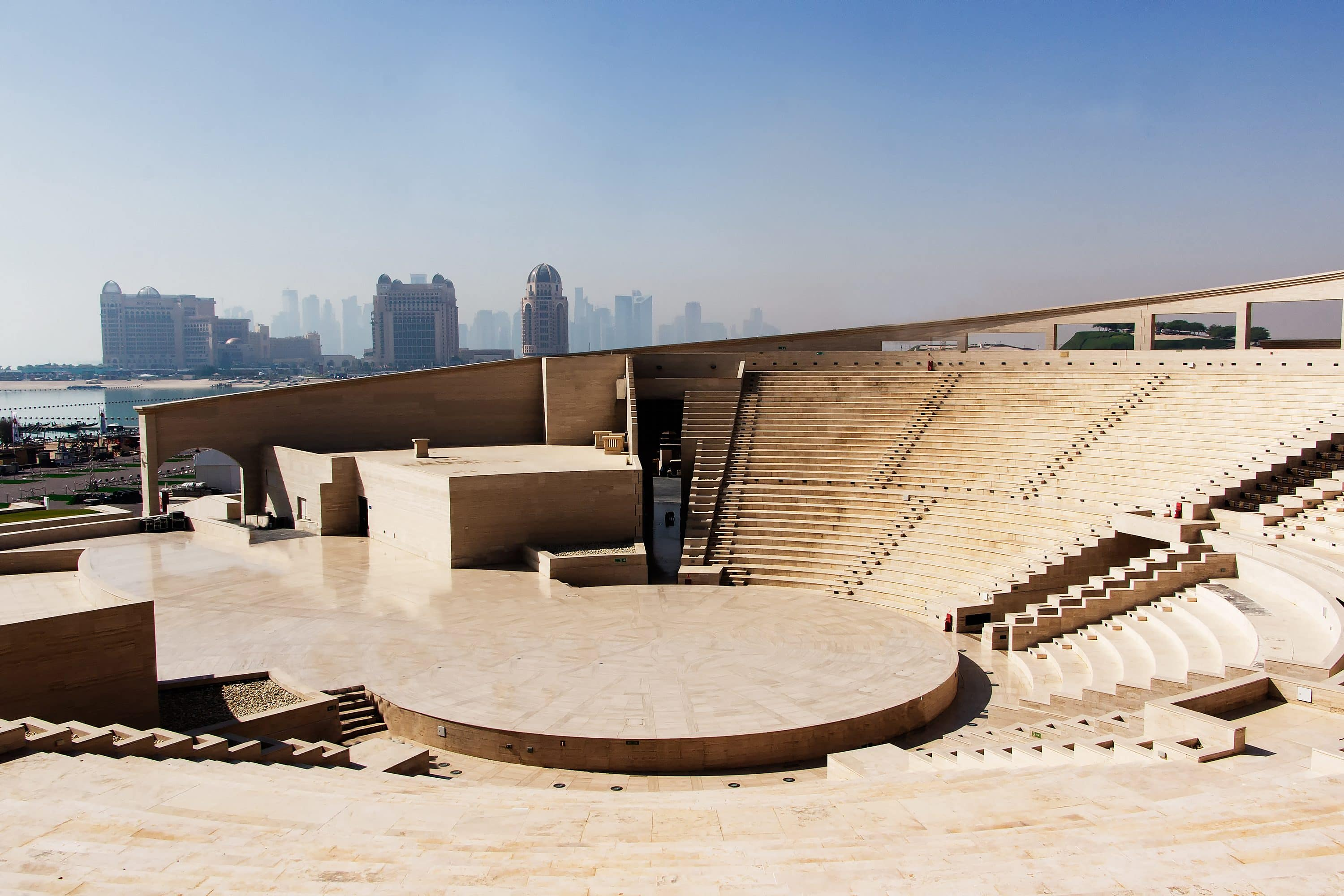 The amphitheatre at Katara Cultural Village
