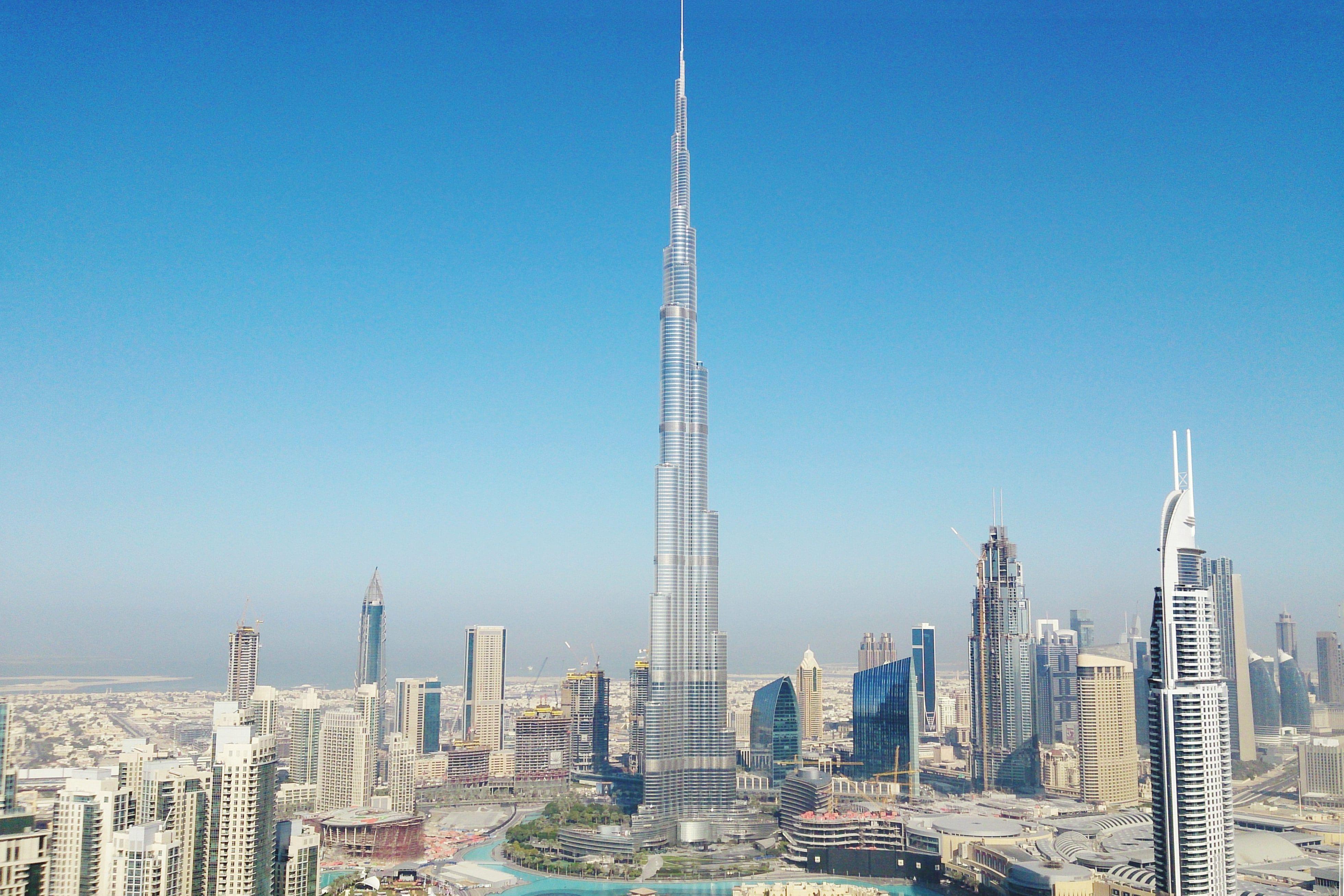 Burj Khalifa and the Dubai skyline