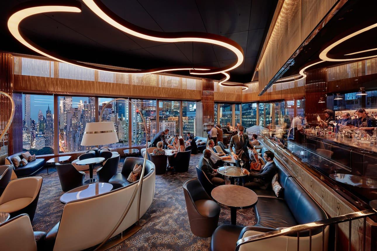 Luxury 5 star hotel manhattan mandarin oriental new york - Hotel mandarin restaurante ...