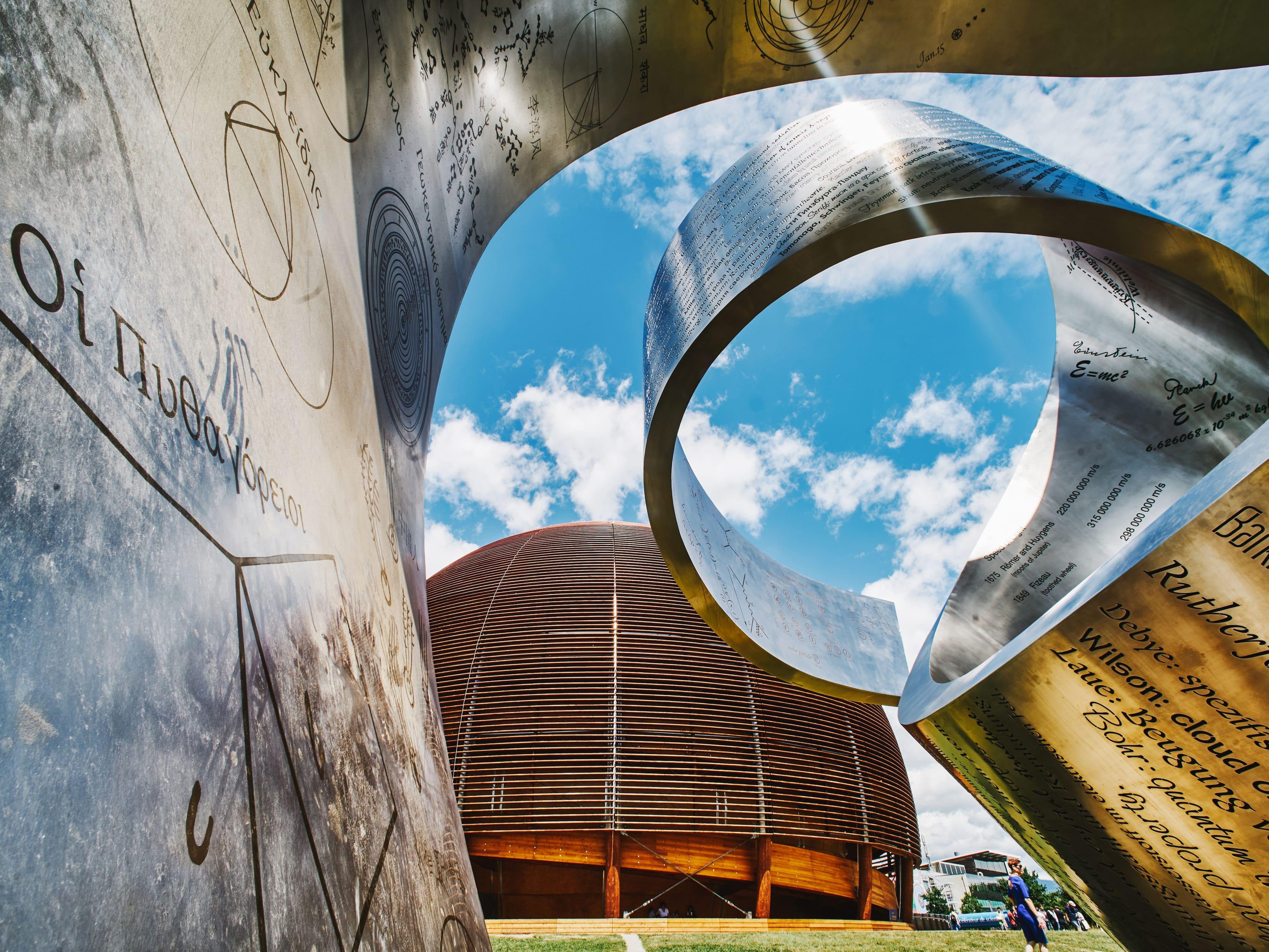 Exterior of CERN, Geneva