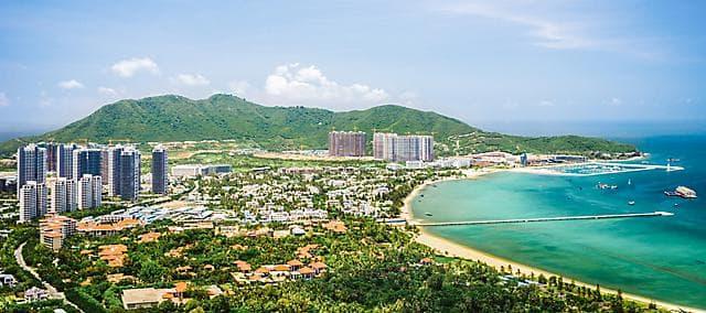 View of Sanya Bay