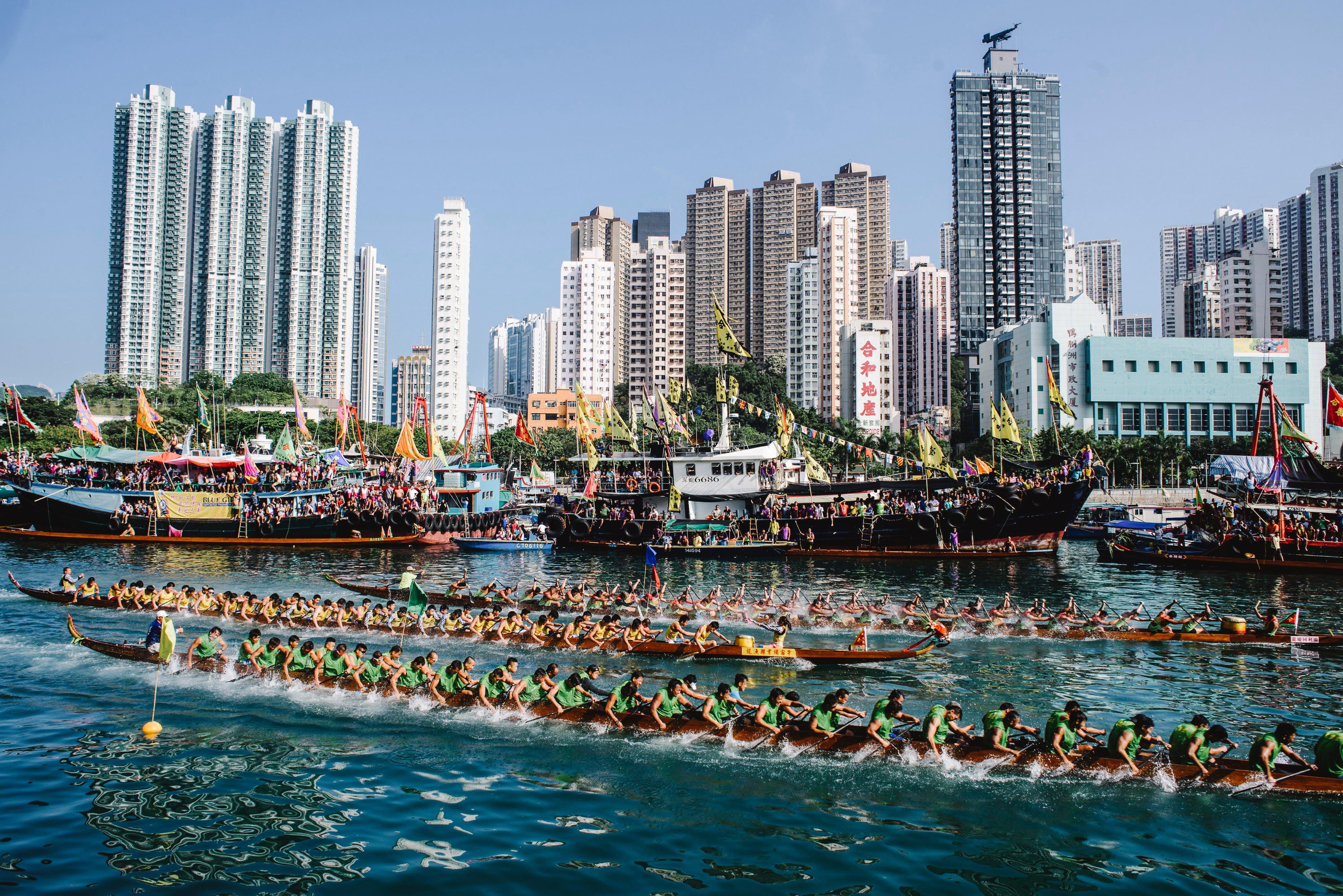 Dragon Boat Festival in Hong Kong