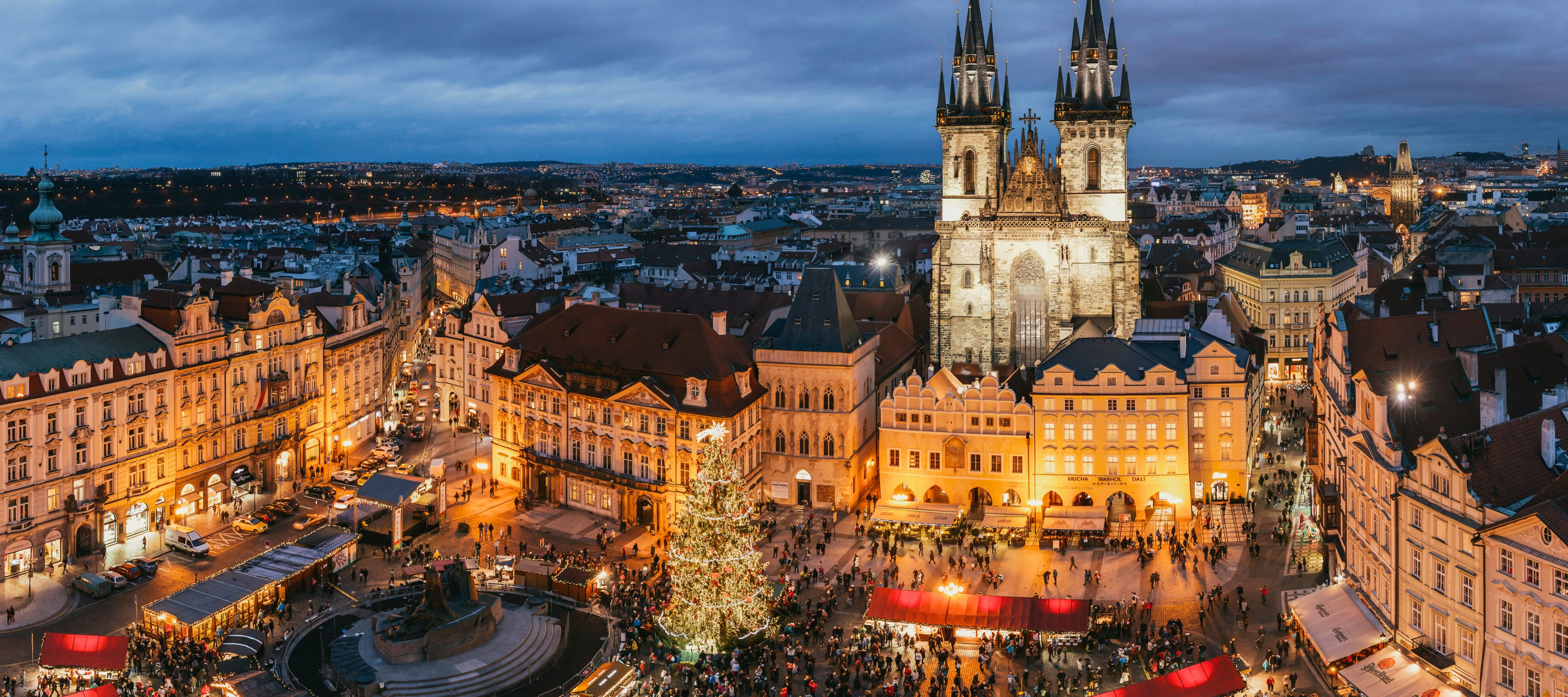 Making the most of Christmas in fairytale Prague
