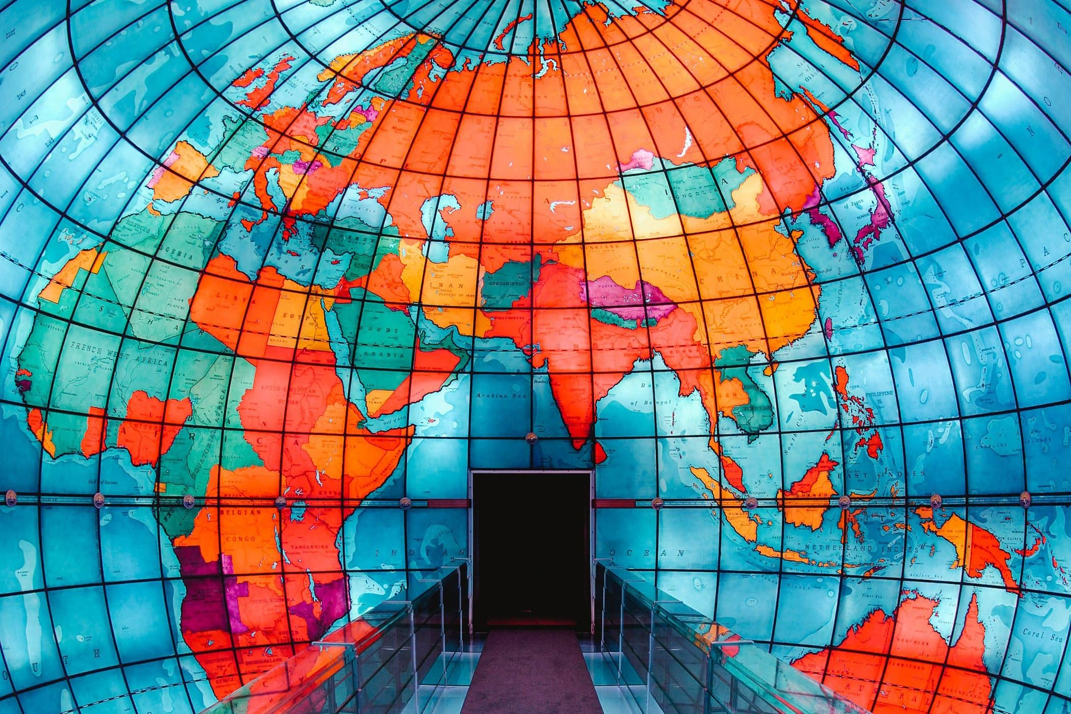 The Mapparium at the Mary Baker Eddy Library
