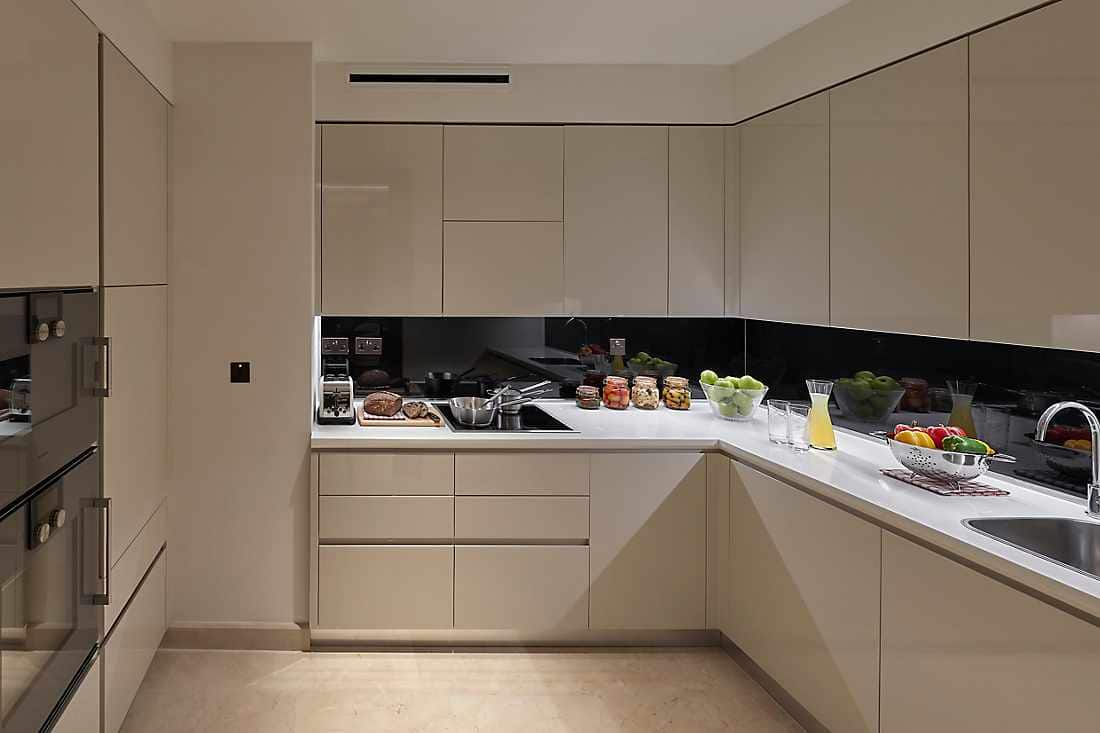 Three Bedroom Apartment kitchen