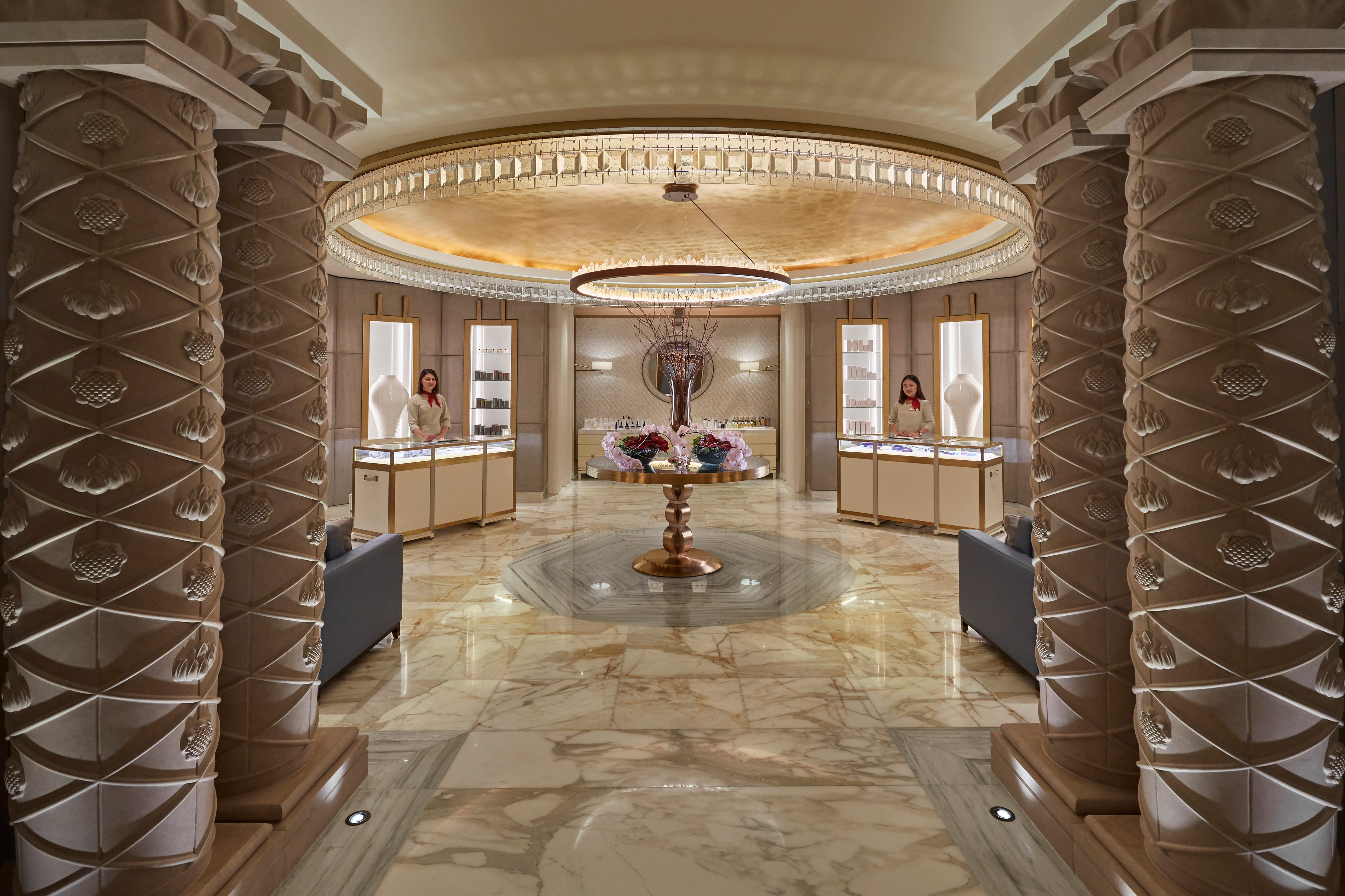 Ladies Hair And Beauty Salon Msheireb Luxury Spa Mandarin Oriental Doha