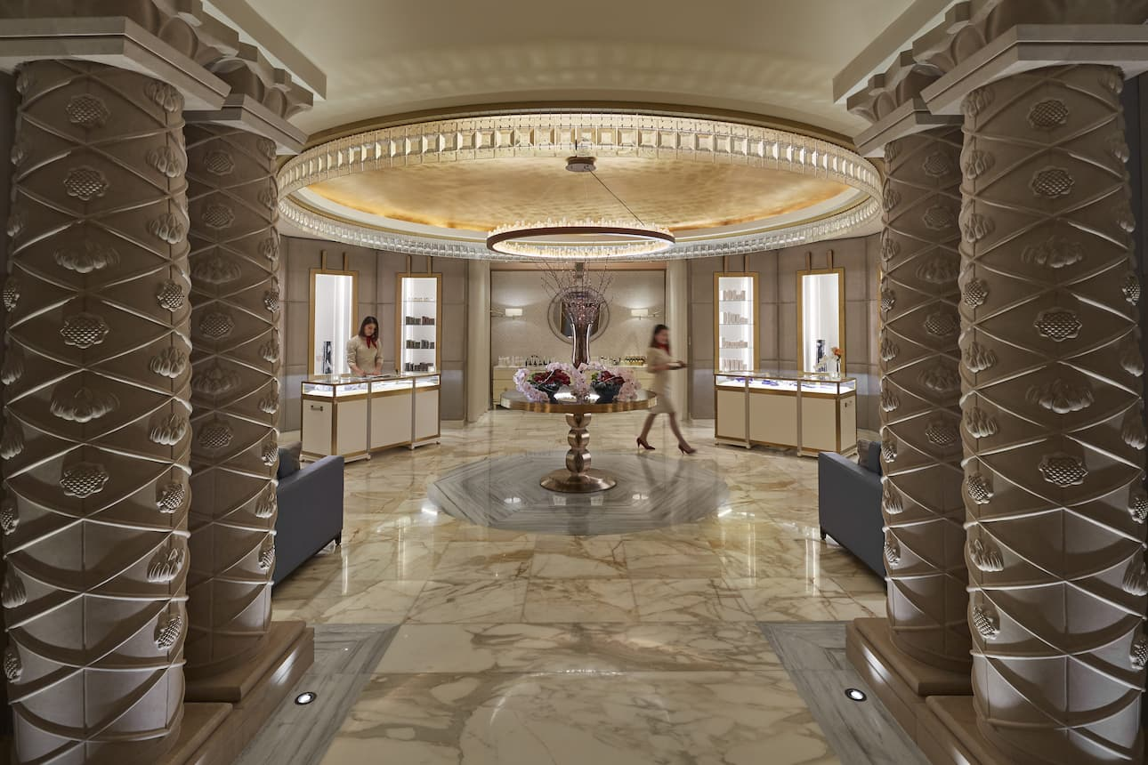 Interior of The Spa at Mandarin Oriental, Doha