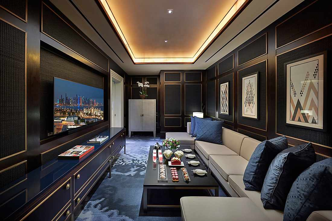 Baraha View Suite entertainment room