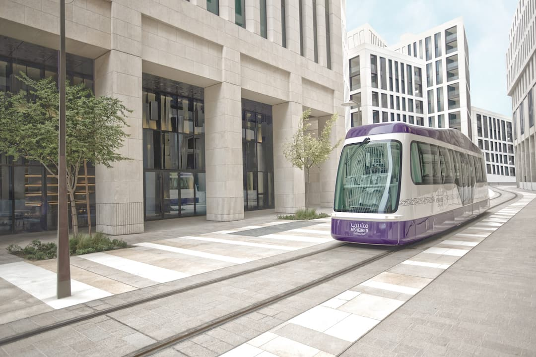 Sustainable public tram