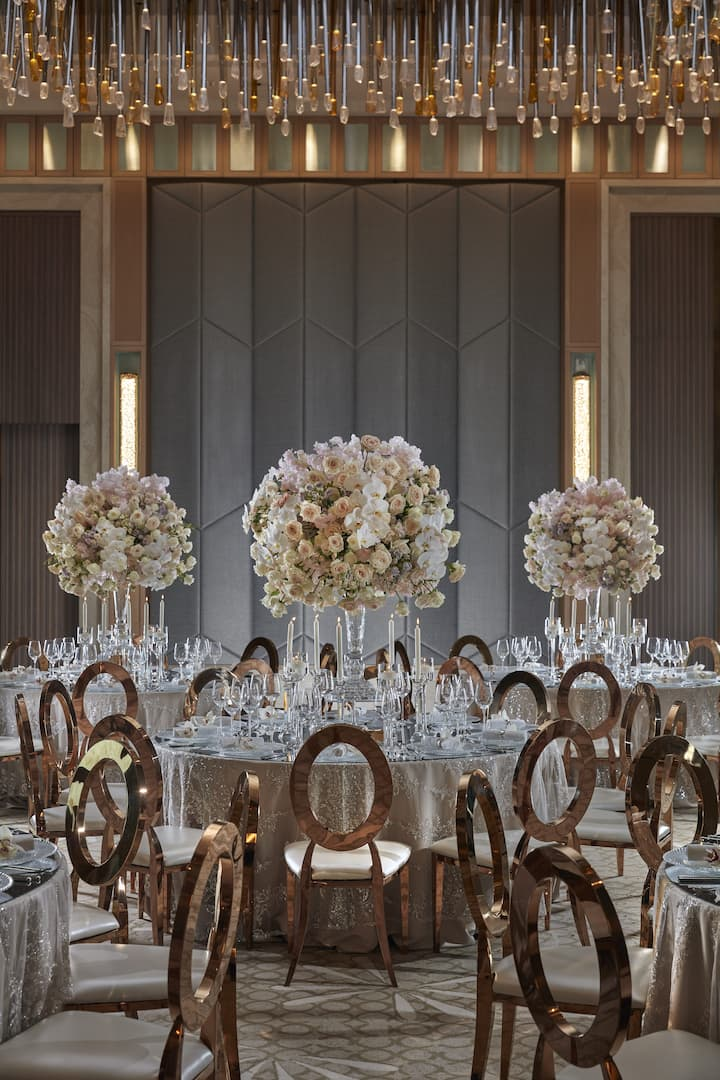 dubai wedding weddings setup hotel venues events mandarin venue oriental event