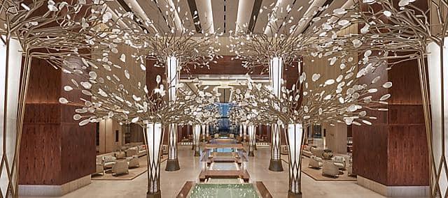 lobby at Mandarin Oriental Jumeira, Dubai