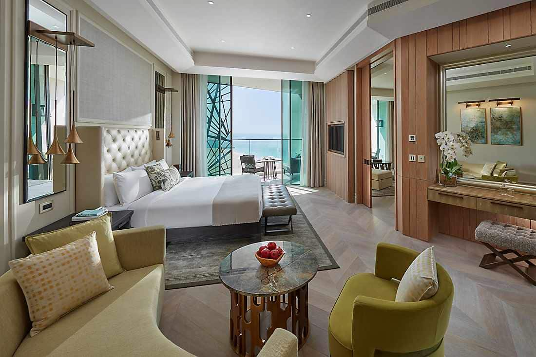 Sea View Suite kind bed