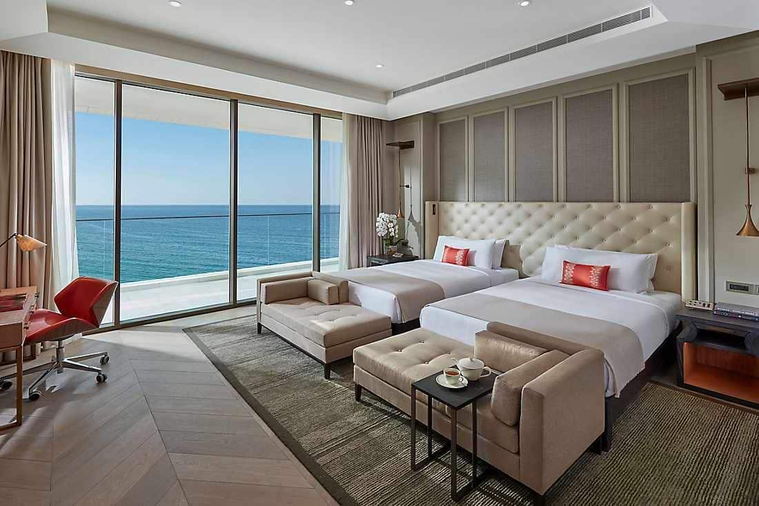 Two Bedroom Sea View Suite two beds bedroom
