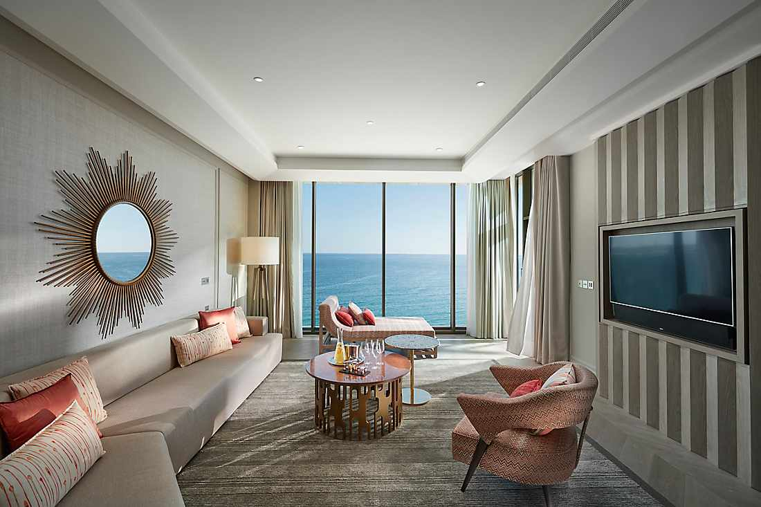 Two Bedroom Suite with Terrace living room