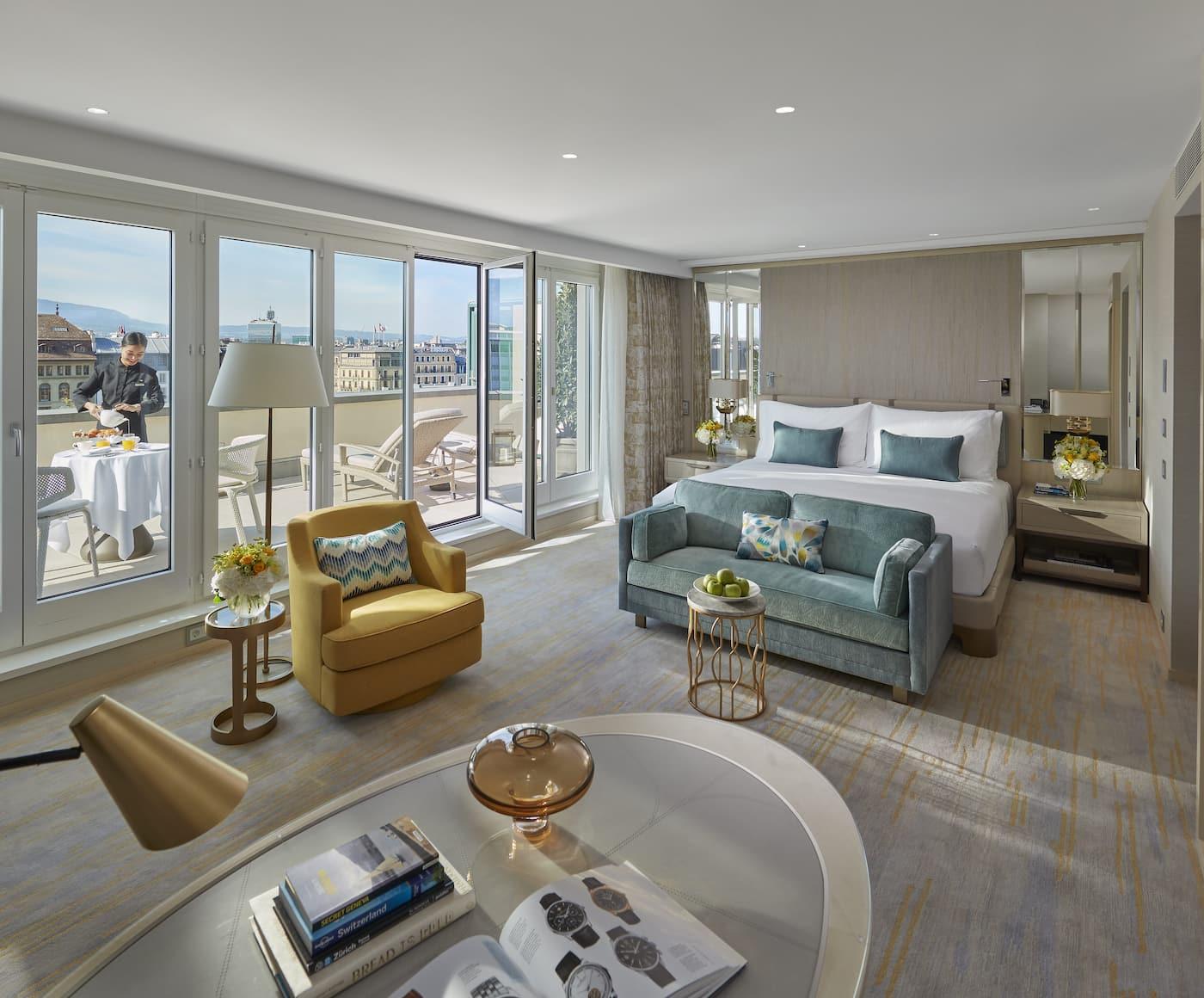 Luxury 5 Star Hotel | Rhone River | Mandarin Oriental, Geneva