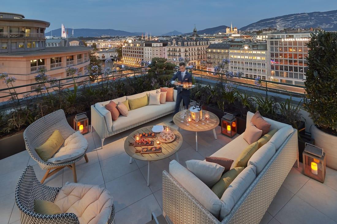 royal penthouse terrace