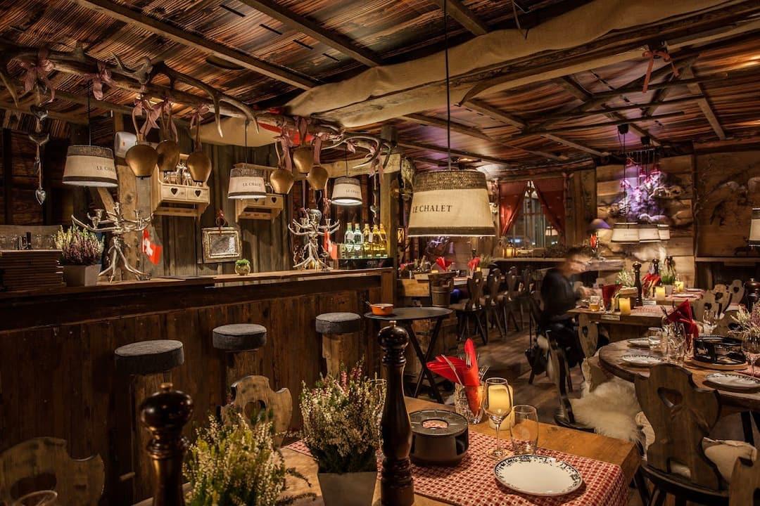 Le chalet french cuisine on the rhone river mandarin oriental geneva - Chalet cuisine ...