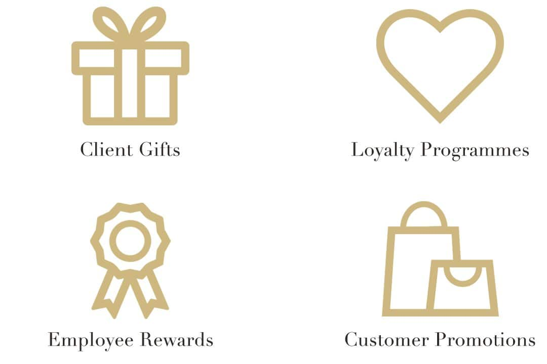 client gifts, loyalty program, employee reward, customer promotions