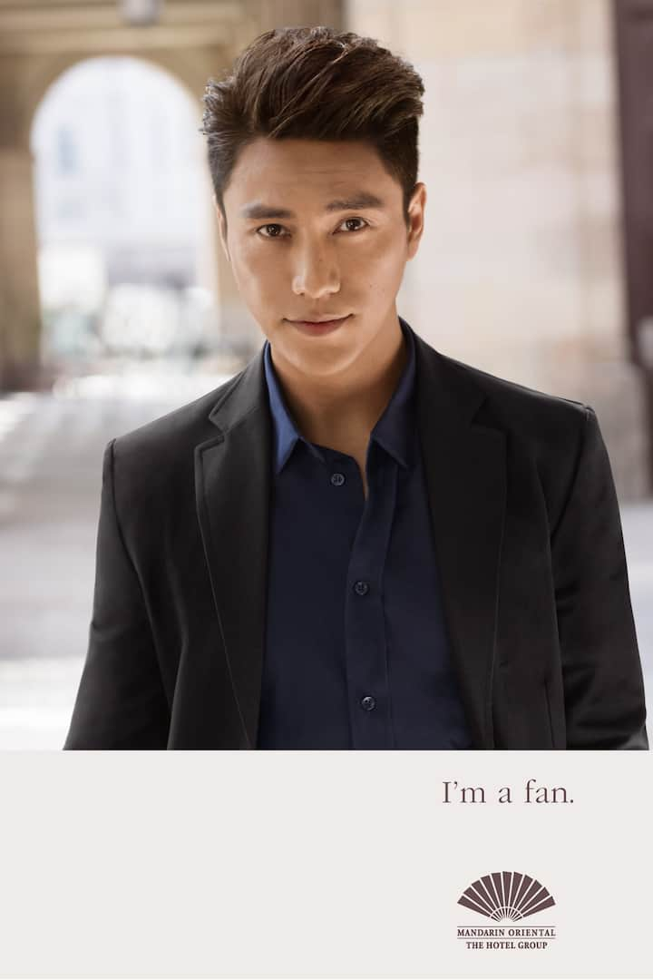 Chen Kun in black suit
