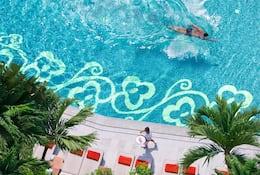 Pool at Mandarin Oriental, Bangkok