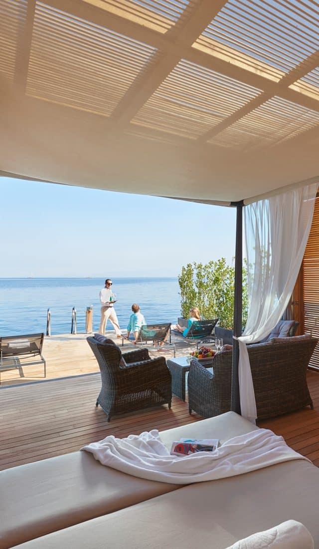 Beach cabana in Bodrum