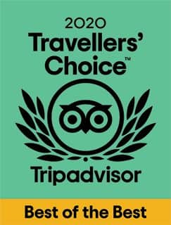 Tripadvisor 2020 Travellers' Choice Best of the Best