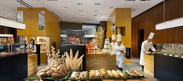 a selection of patries from cake shop at mandarin oriental, guangzhou