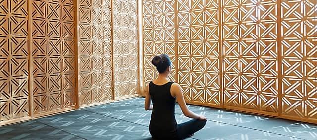 yoga at mandarin oriental, guangzhou