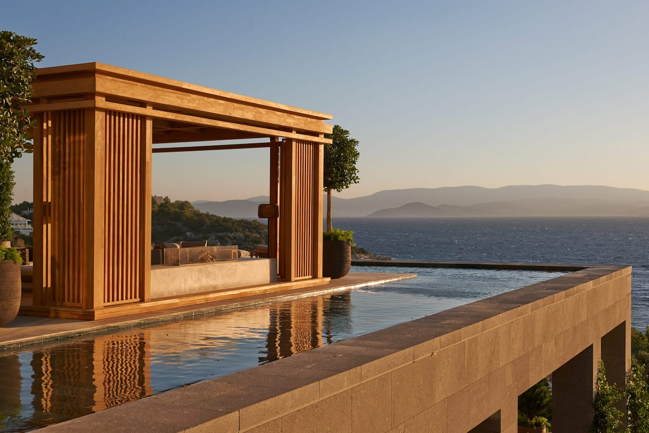 bodrum exterior with pool