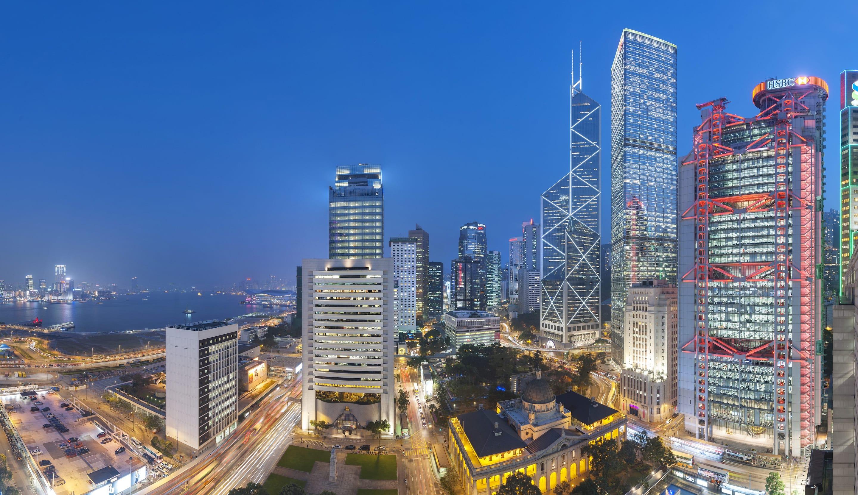 5つ星のラグジュアリー ホテル 中環 マンダリン オリエンタル 香港
