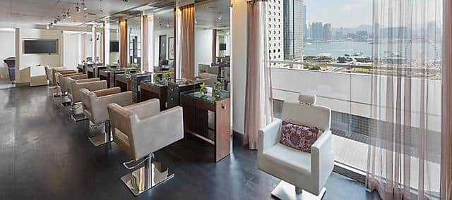 mandarin salon, with view, at mandarin oriental, hong kong