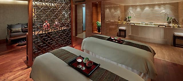 spa suite at mandarin oriental, hong kong