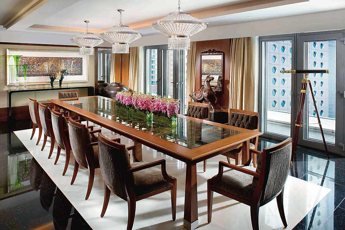 mandarin suite dining room