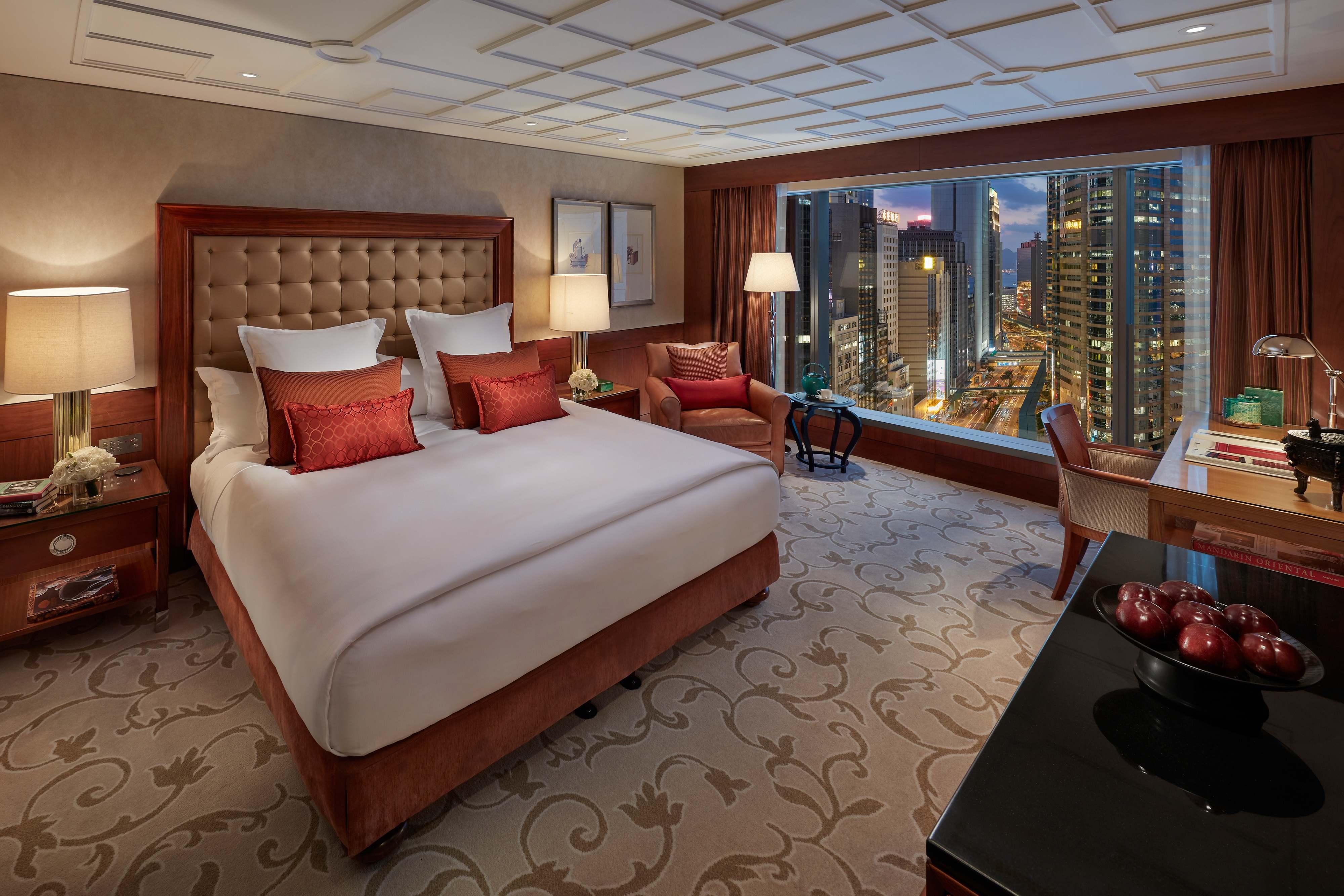 香港文華東方酒店市區景觀客房