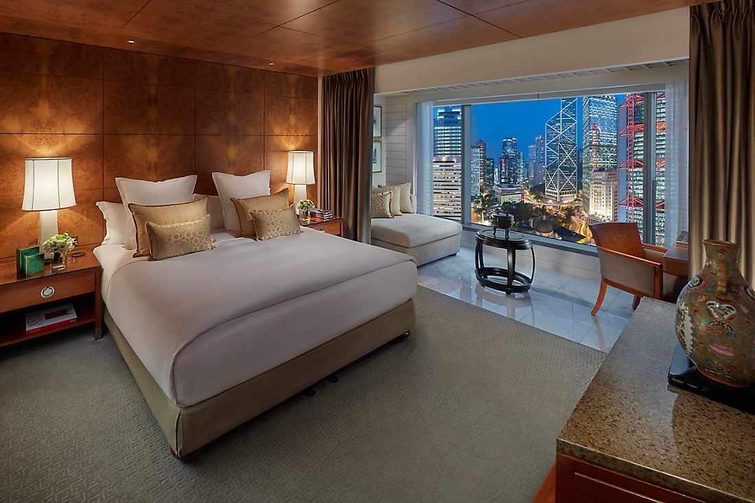香港文華東方酒店 - 皇后像廣場景觀客房