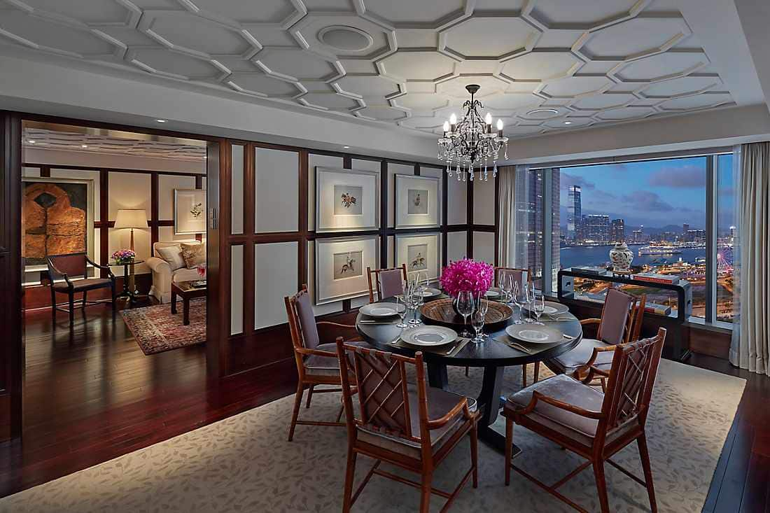macau suite dining room