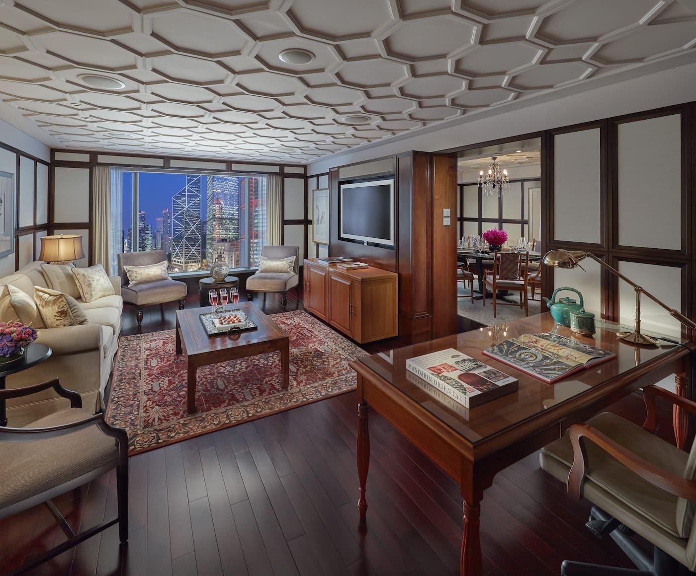 macau suite living room